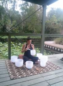 crystal bowls Wekiva Island
